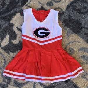 Baby cheerleading outfit!